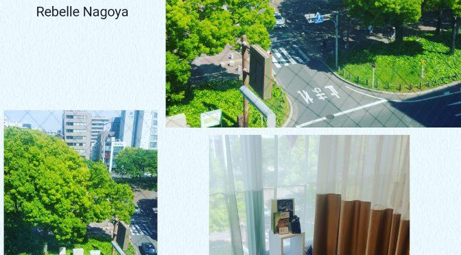 ハーブピーリングRebelle名古屋!矢場町サロンの景色が癒される!